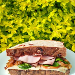 Sweet Onion & Ham Sandwich