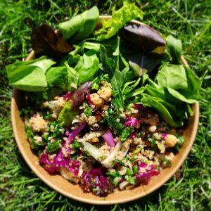 Whole Grain Quinoa & Kale Salad